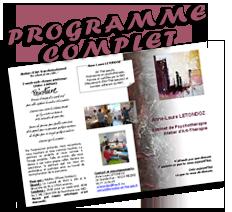 programme complet